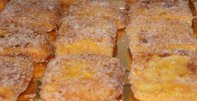 Receta leche frita recetas de la Abuela Angelita