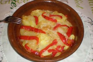 Receta patatas panaderas