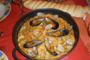 receta fideua de marisco